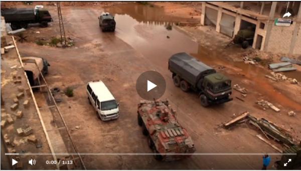 Российские  подразделения РБХ-защиты развернуты в сирийском Идлибе