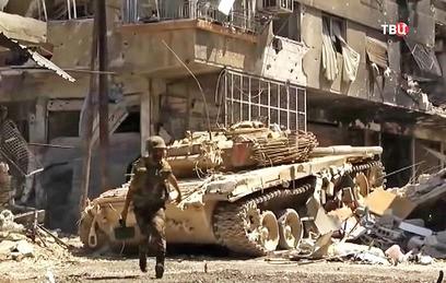 Сирийская армия вошла в самый крупный город под контролем ИГ