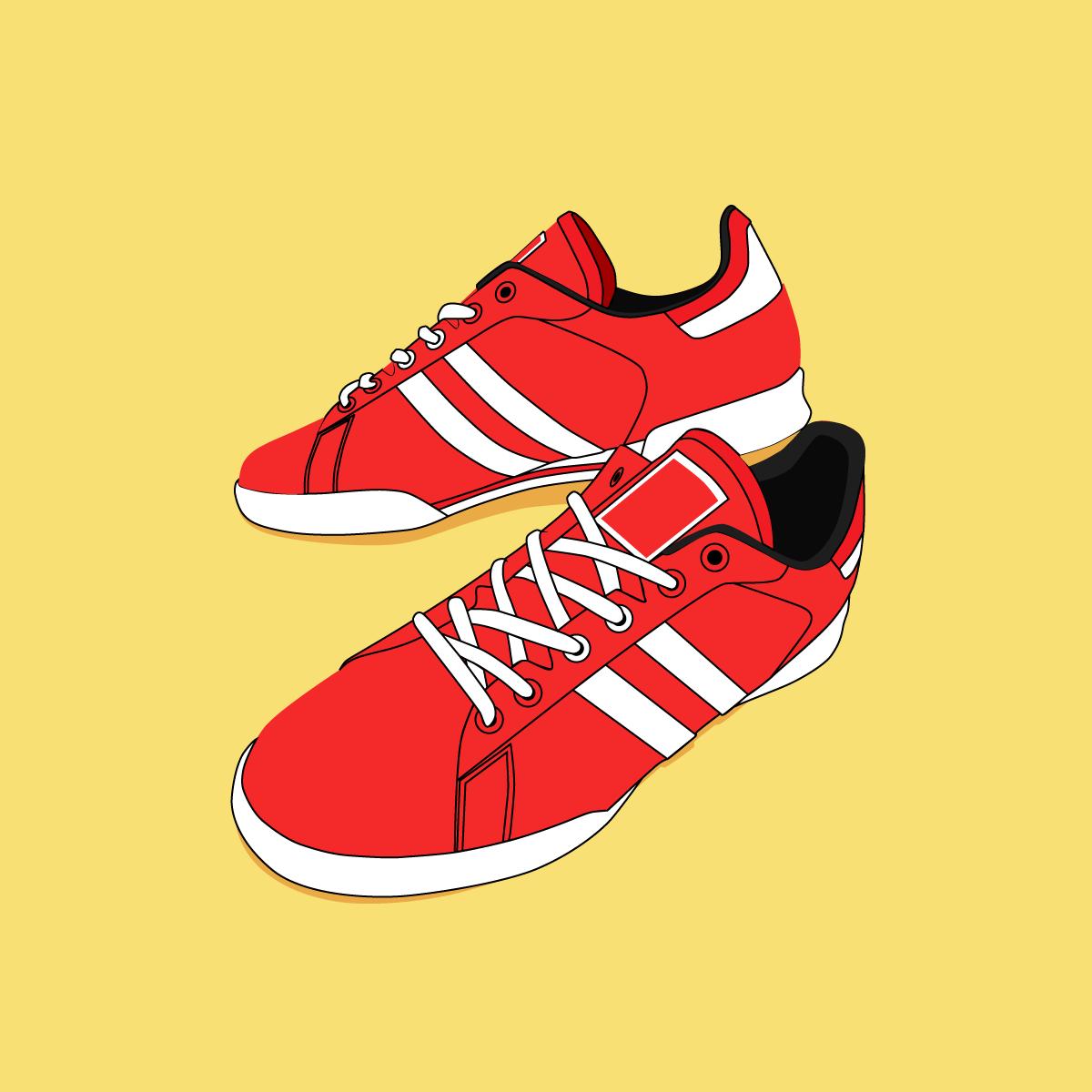 Немецкие кроссовки