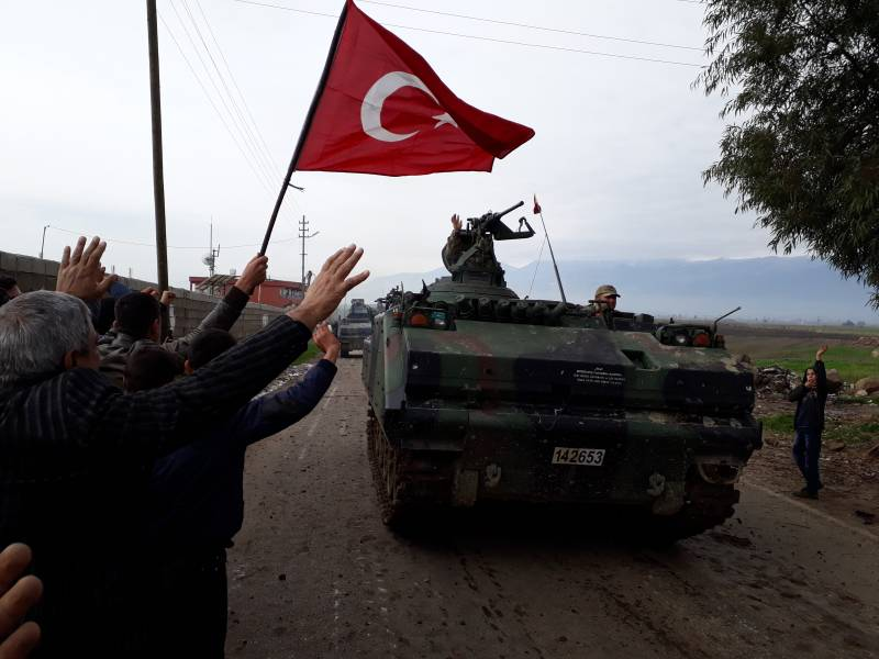 Иракский Курдистан готов оказать помощь Африну