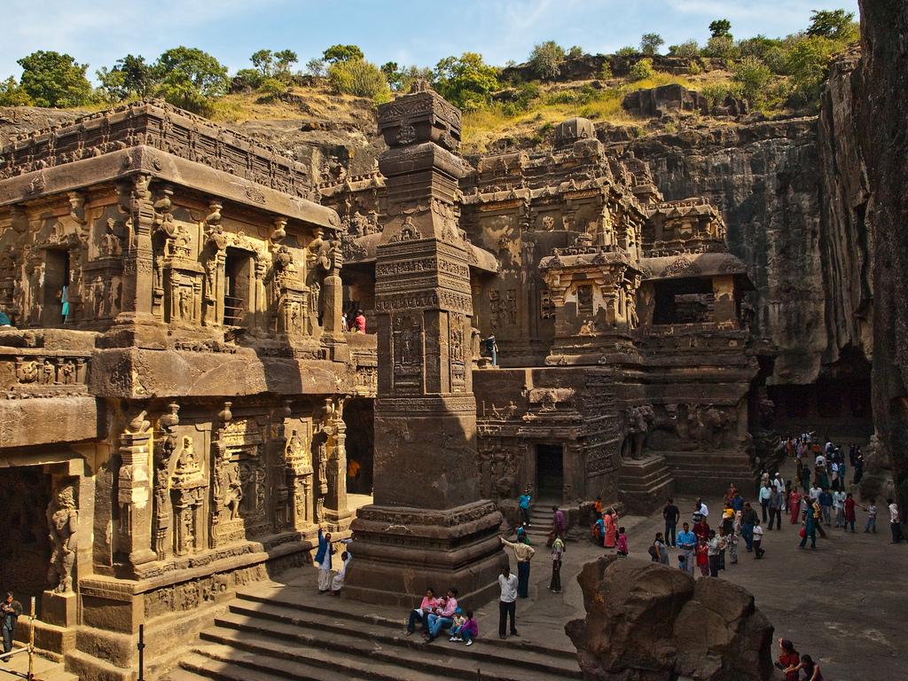 4242684153 7efa1f1e3d b Уникальный храм Кайласанатха