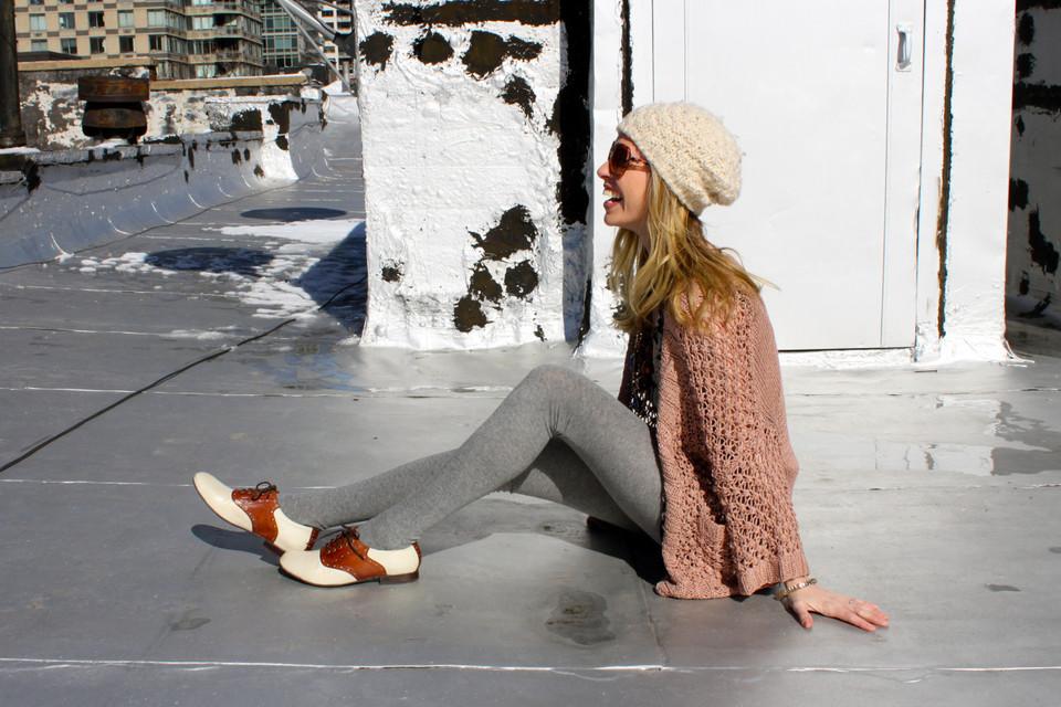 С чем носить туфли дерби? Лучшие образы для современных модниц