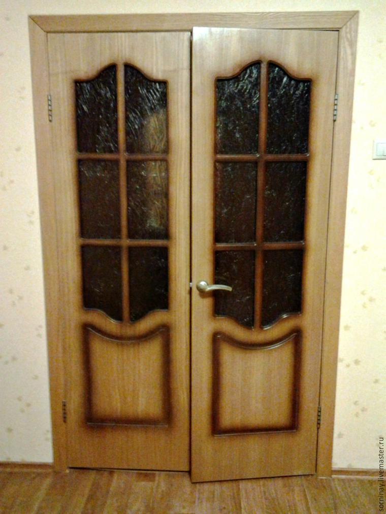 Мастер-класс: роспись двери