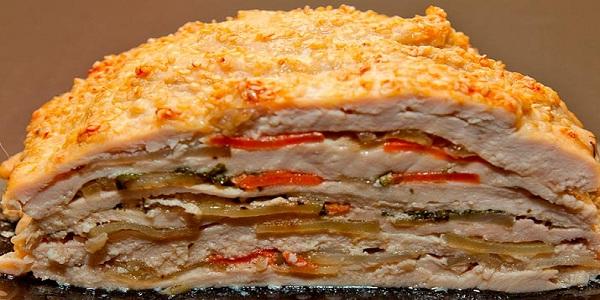 Вкуснейшее и оригинальнейшее блюдо — готовится из простых продуктов, а выглядит — как деликатес из шикарного ресторана