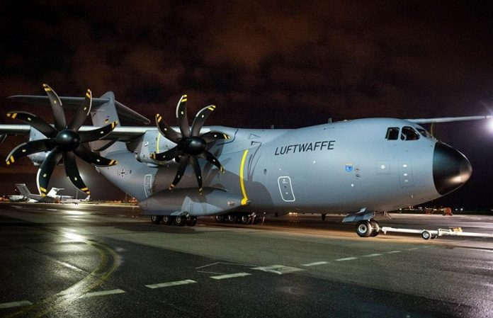 Люфтваффе испытывают серьёзные проблемы с военно-транспортными самолетами Airbus A400M