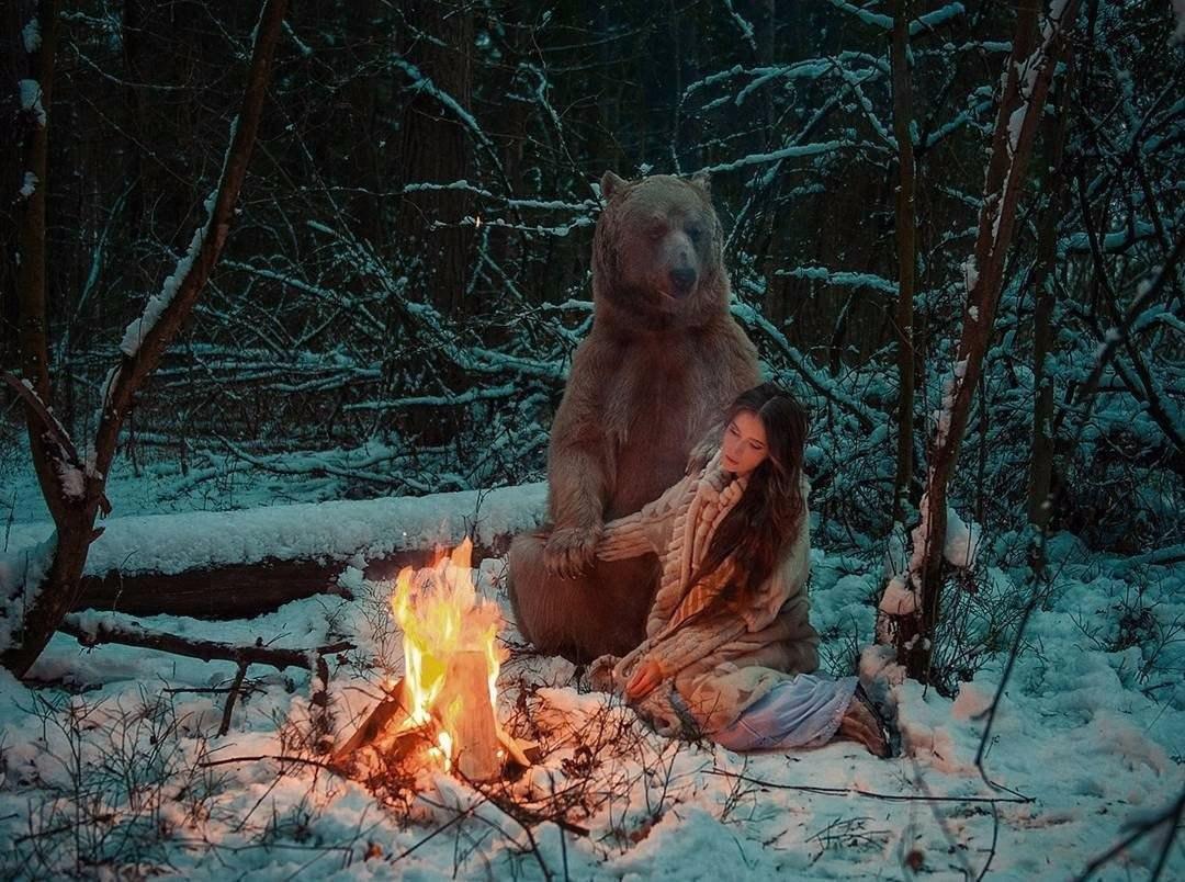 Это Россия, детка. Фотосессия с мишкой Степаном