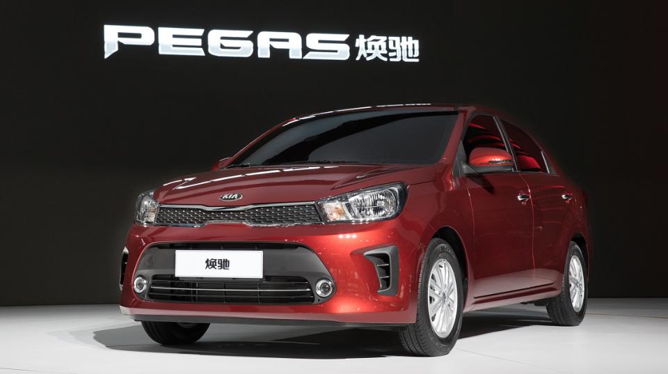 KIA представила модели Pegas и K2 Cross