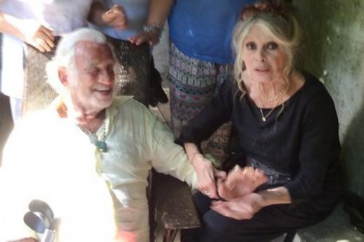 82-летний Бельмондо и 80-летняя Бардо воссоединились в Сан-Тропе