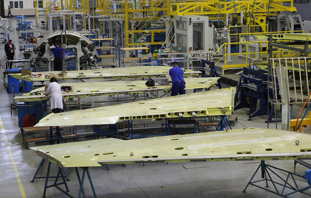Санкции США перекрыли поставки материалов для крыла самолета МС-21