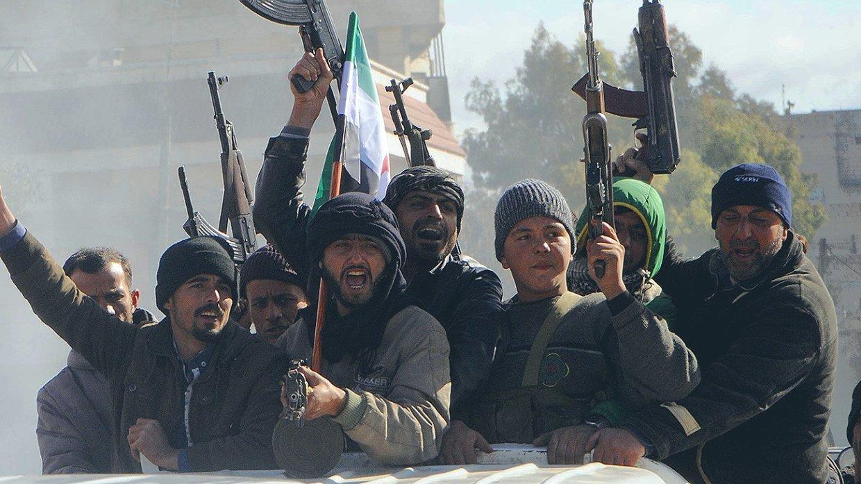 Сирия сегодня:САА вытесняет…