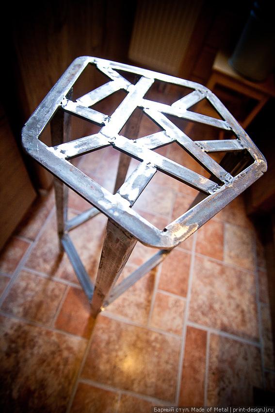 Стул из металла своими руками в домашних условиях с фото чертежи