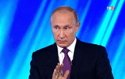 Путин: США обладают крупнейшим арсеналом химического оружия