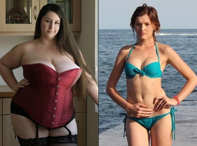 Разница между сексом с худышками и толстыми