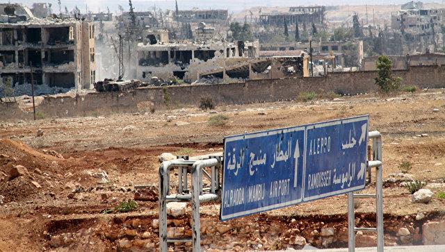 Новости Сирии. Сегодня 16 сентября 2016