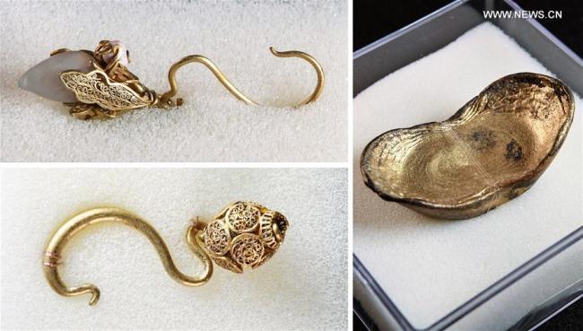 В Китае обнаружили сокровища из легенды