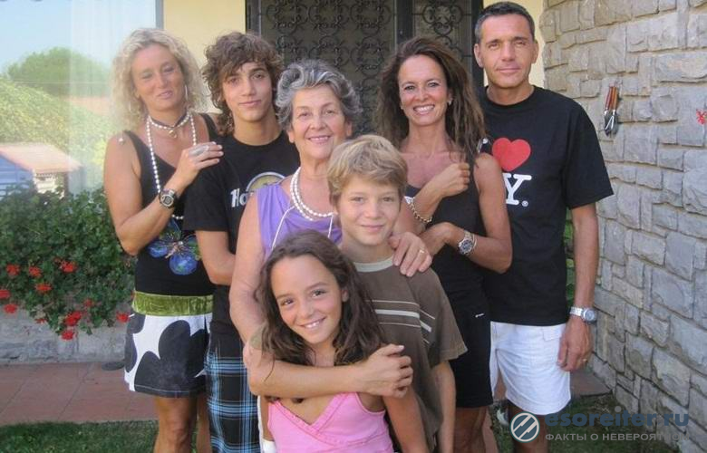 Итальянская семья совсем не чувствует боли