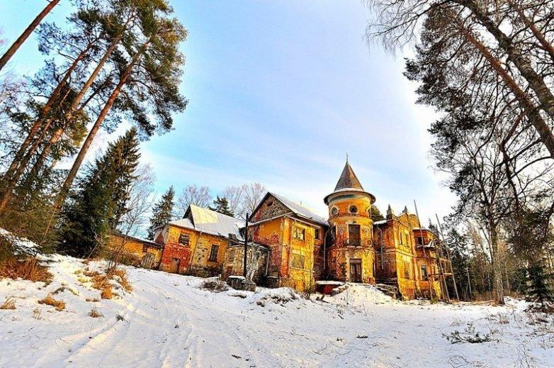 Усадьба архитектора А. С. Хренова архитектура, заброшенные усадьбы, имения, путешествия, россия, туризм