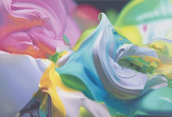 Красками - краски. Яркие и позитивные картины Бена Вайнера