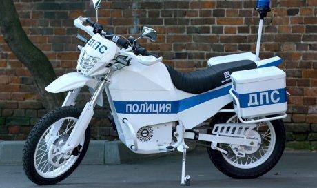 Концерн «Калашников» выпустил вездеходный электроцикл для полиции и армии