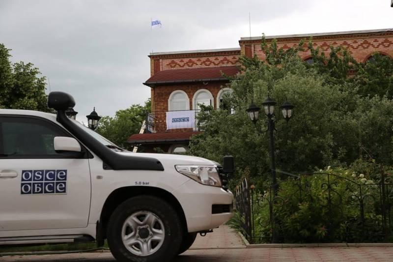 В Донбассе открыта новая патрульная база ОБСЕ