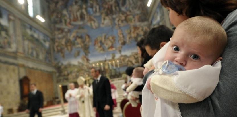 Женщину посадили за крещение дочери