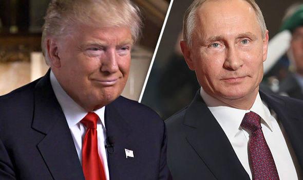 Лёд и пламень (Путин и Трамп)
