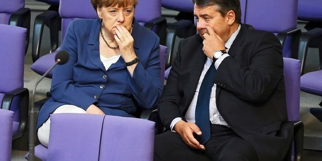 Зигмар Габриэль, глава немецкого МИД: «Россия загнала себя в угол, надо её спасти»!
