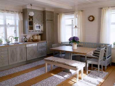 Деревенский стиль в кухне – …