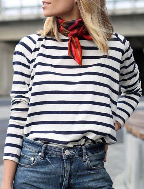 Модный акцент: Шейный платок