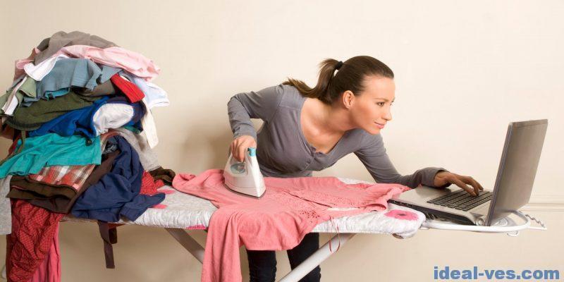 Эффективно справляемся с домашними делами