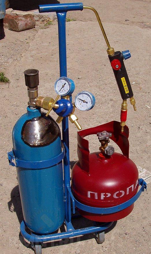 Газовый мини резак своими руками