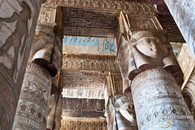 Что расплавило ступеньки в древнеегипетском храме Дендеры?
