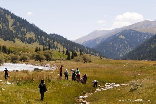 Travel Film Media на просторах Кыргыстана