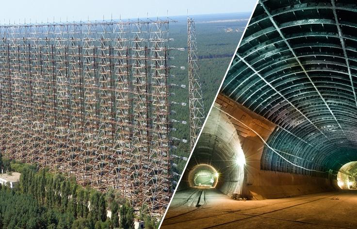 Заброшенные мега-проекты СССР, поражающие одним видом