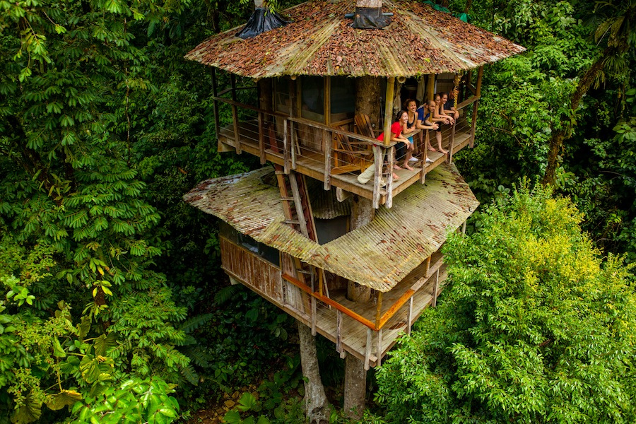 Отель на Коста-Рике, который стоит хотя бы увидеть