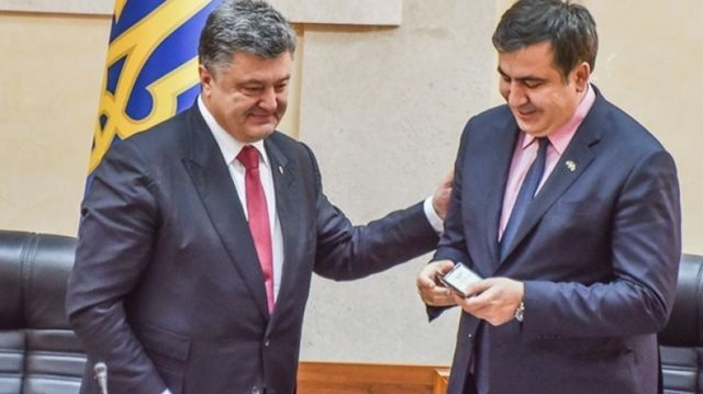 Саакашвили и Порошенко: От вражды к торгу