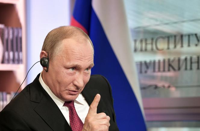 Путин: Даже плохую погоду в Москве и Петербурге теперь можно свалить на Трампа