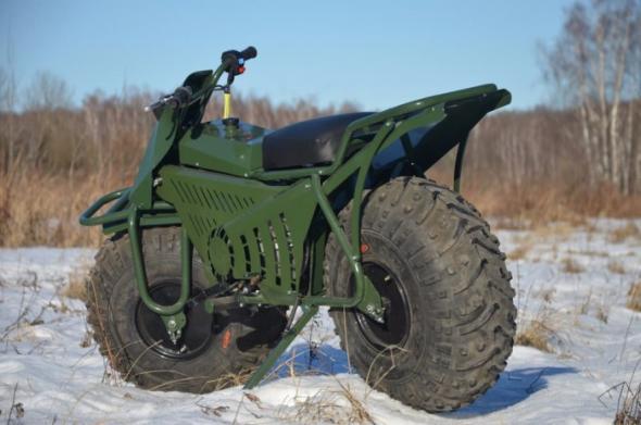 Русский мотоцикл-вездеход