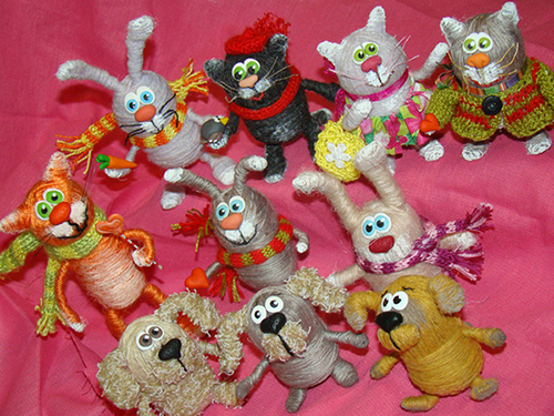 Поделки игрушек видео