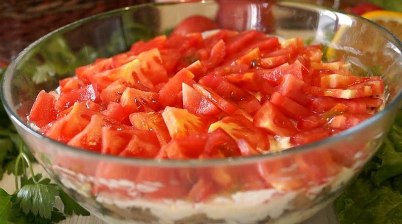 Бесподобный салат