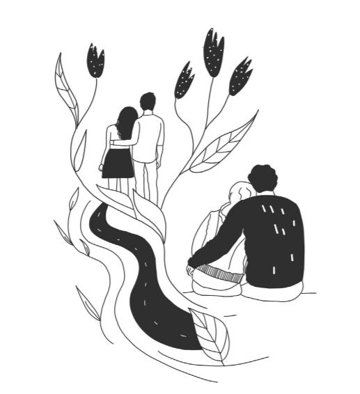 Иллюстрация из книги «Семья что надо»