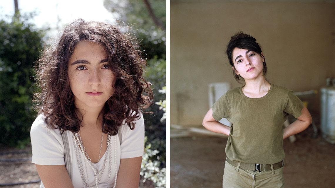 Как меняется внешность: шесть израильских девушек через 5 лет