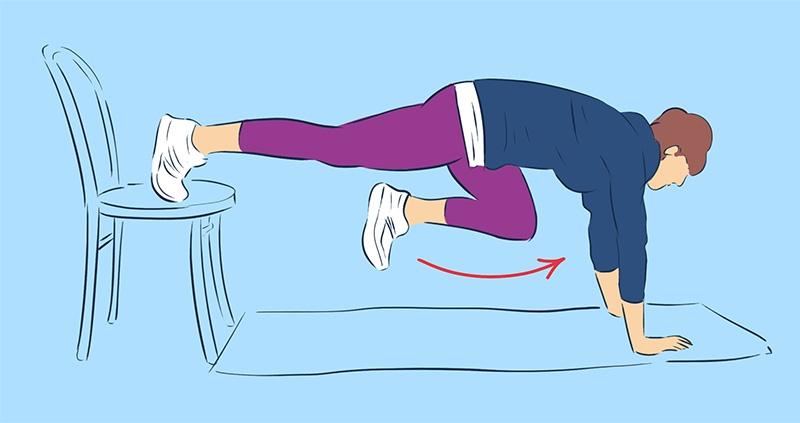 активная тренировка дома