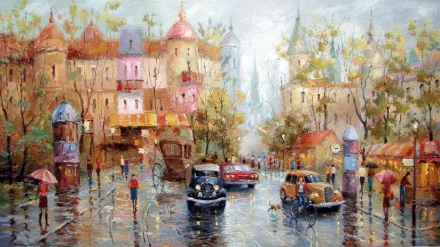 Тепло красок в живописи Дмитрия Спироса