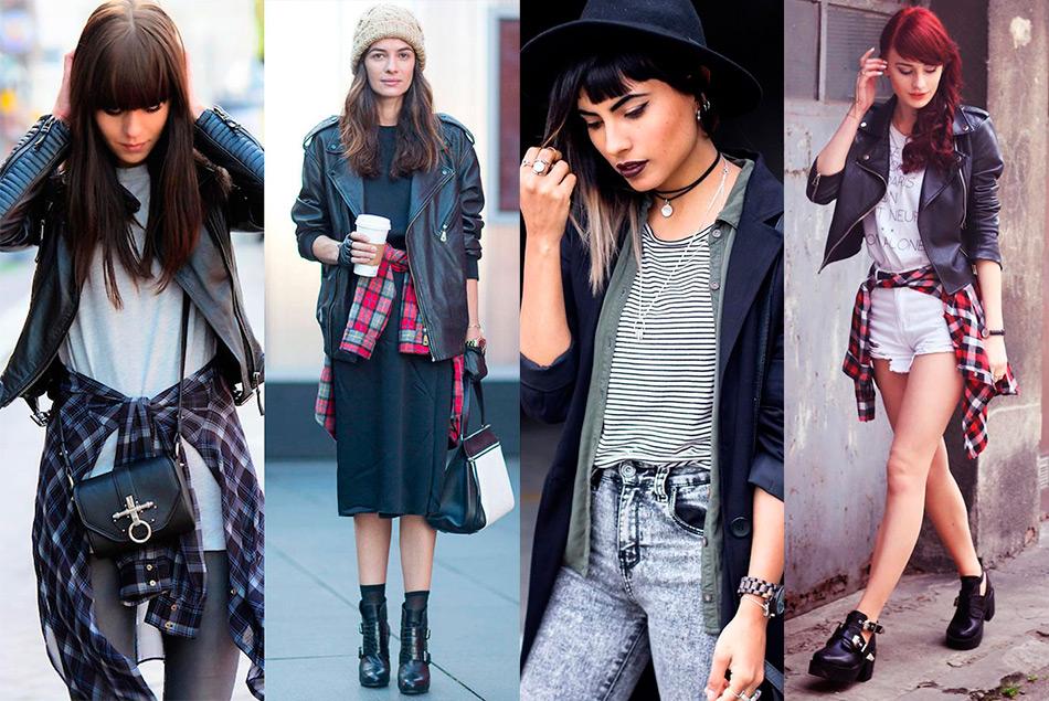 Мода в стиле гранж