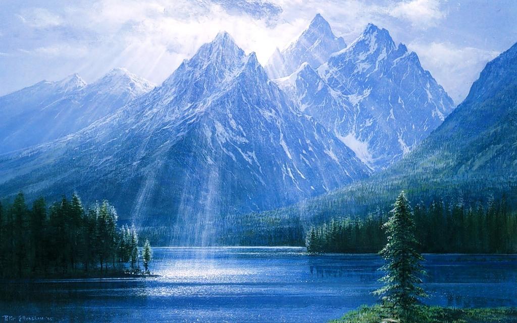 Завораживающие пейзажи художника Peter Ellenshaw