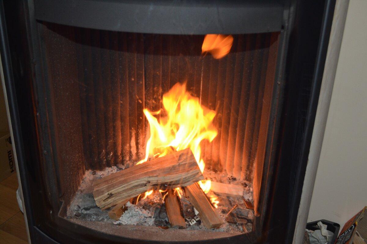 Огонь разгорается...