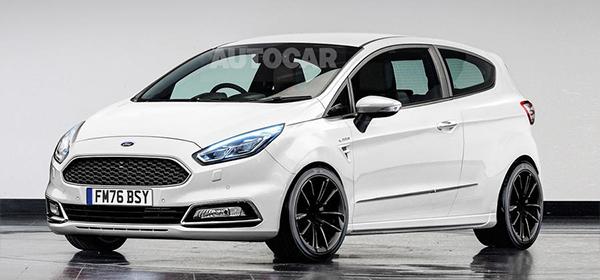 Ford назвал дату премьеры Fiesta нового поколения