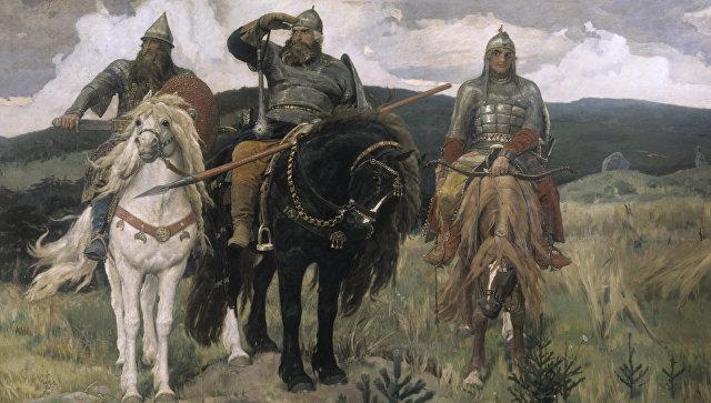 На Украине запретили продажу сказок о русских богатырях