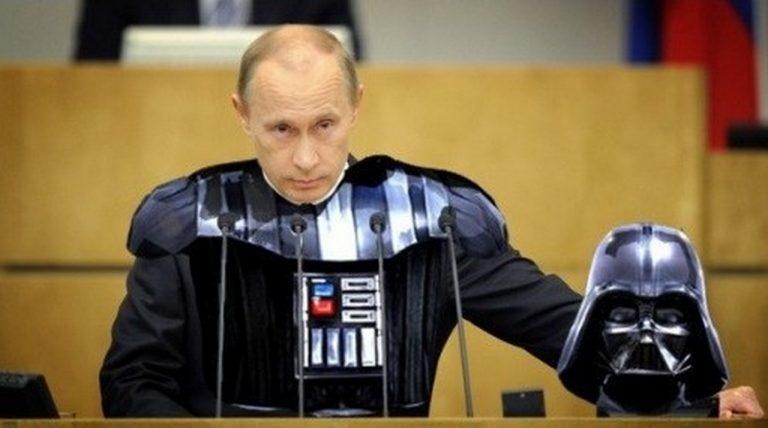 """""""Дарт Путин и его тёмная сторона"""". Трепещите все! - А. Роджерс"""